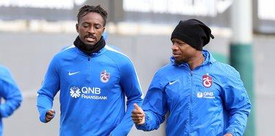 Trabzonspor'da Akigo mesaisi sürdü
