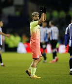 Manchester City'ye turu Agüero getirdi!