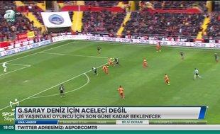 Galatasaray Deniz Türüç için aceleci değil | Video haber