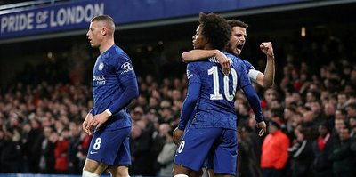 Chelsea knock Liverpool out of FA Cup