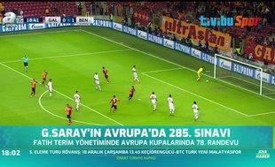 Galatasaray'ın Avrupa'da 285. sınavı