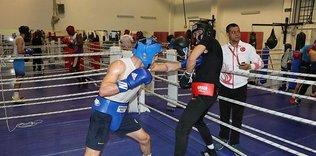 Milli boksörlerin Kastamonu kampı sürüyor