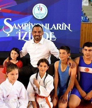 """Hamza Yerlikaya: """"Terörü sporun gücüyle yeneriz"""""""