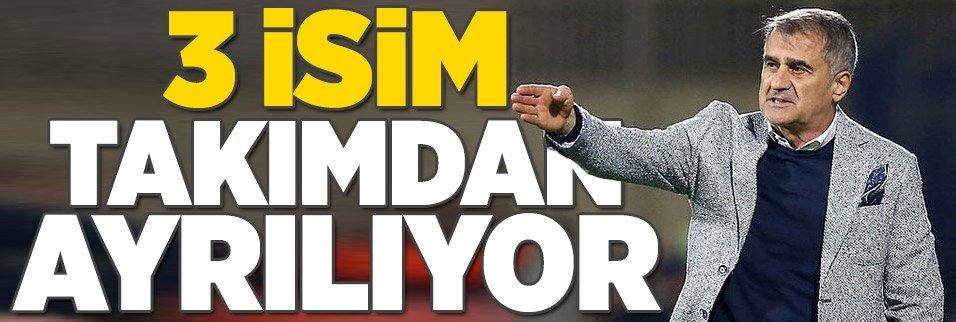 Beşiktaş'ta 3 isim takımdan ayrılıyor!