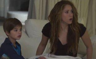 Shakira'nın yıkıldığı o an! İlk kez yayınlandı...