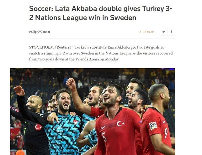 """""""Türkiye 2 dakikada İsveç'i çukurun dibine itti"""""""