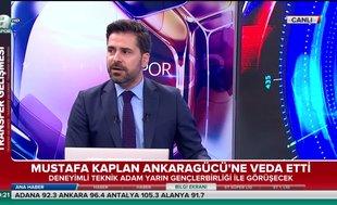Mustafa Kaplan Ankaragücü'ne veda etti | Video