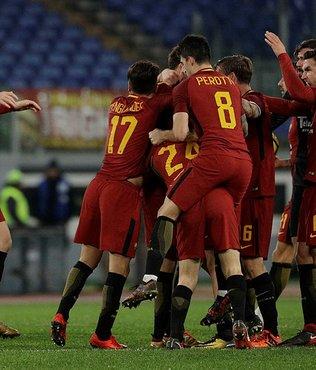 Serie A'da Roma son dakikada güldü