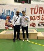Boksör Ferhat İncekaya Türkiye 2.'si oldu