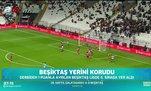Beşiktaş yerini korudu