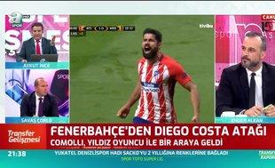 Fenerbahçe'den Diego Costa atağı!