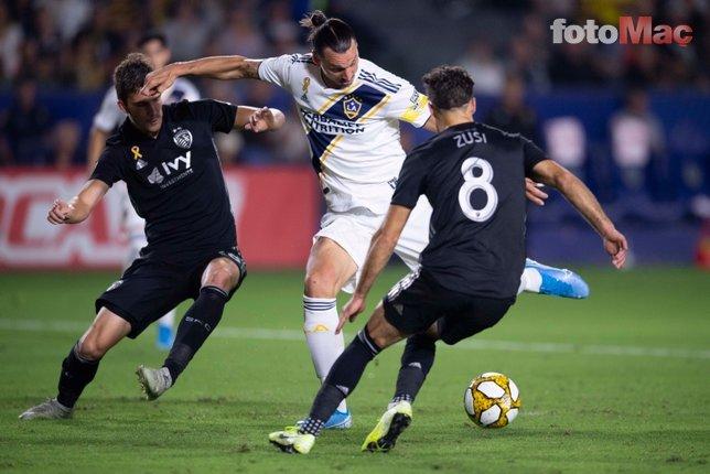 Ibrahimovic 3. kez hat-trick yaptı! LA Galaxy'den 7 gollü galibiyet