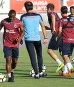 Trabzonspor'da topla çalışmalar başladı