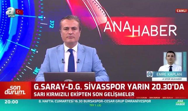 Falcao Sivasspor maçında oynayacak mı?