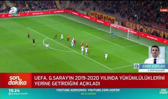 1596818041316 - Son dakika: UEFA'dan Galatasaray ve Başakşehir açıklaması!