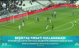 Beşiktaş'ta moraller bozuk! Büyük fırsat kaçtı
