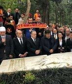 Galatasaray'ın 113. yıl etkinlikleri  Ali Sami Yen mezarı başında anıldı