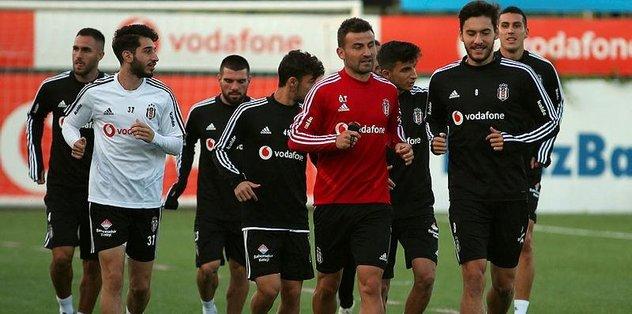 Beşiktaş'ta MKE Ankaragücü maçının hazırlıkları başladı