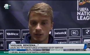 Beşiktaşlı Ljacic: İdolüm Sasa İlic, bu yüzden 22 numarayı giyiyorum