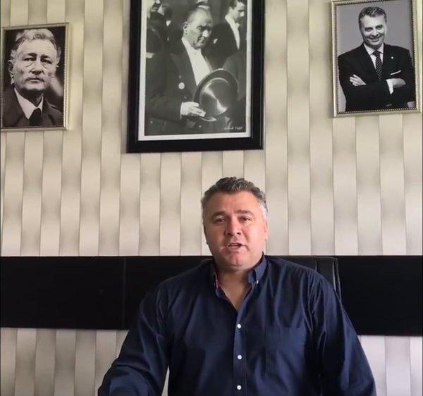 Beşiktaşlı taraftarlardan Keskin'e tepki!
