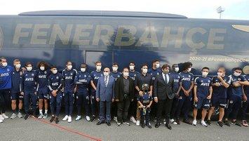 Fenerbahçe'nin yeni takım otobüsü tanıtıldı