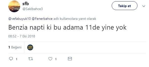 Fenerbahçede Benzia tepkisi: Sinsilik