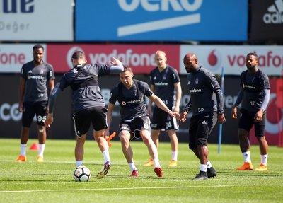 Beşiktaşta Göztepe hazırlıkları sürüyor