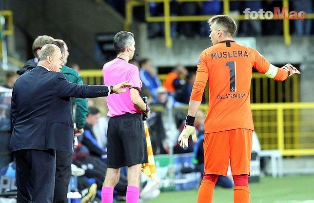 Club Brugge-Galatasaray maçı sonrası taraftarlar isyan etti!