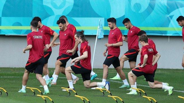 A Milli Takım İsviçre maçına hazır!