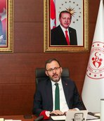 Bakan Kasapoğlu video konferansta