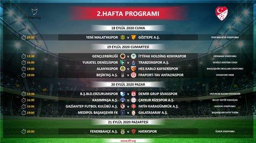super ligde ilk 4 haftanin programi belli oldu iste saat ve tarihler 1598895438873 - Süper Lig'de ilk 4 haftanın programı belli oldu! İşte saat ve tarihler