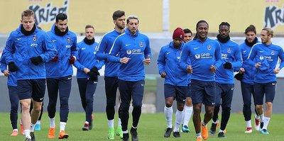 Trabzonspor, Beşiktaş'a hazırlanıyor