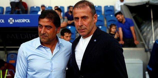 "Trabzonspor Teknik Direktörü Ünal Karaman: ""Daha ligin başı"""