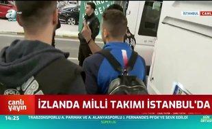 İzlanda Milli Takımı İstanbul'da!