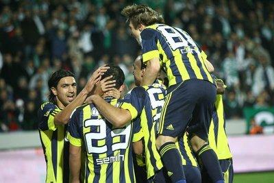 Bursaspor - Fenerbahçe (Spor Toto Süper Lig 10. hafta maçı)