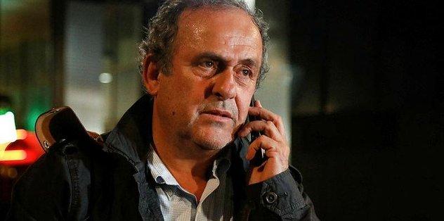 Michel Platini serbest kaldı
