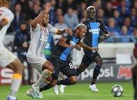 Club Brugge - Galatasaray maçından kareler