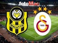 BTC Türk Yeni Malatyaspor-Galatasaray mücadelesi muhtemel 11'leri