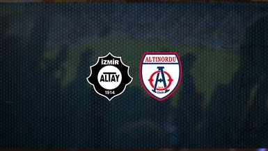 Altay - Altınordu maçı ne zaman, saat kaçta ve hangi kanalda canlı yayınlanacak? | TFF 1. Lig