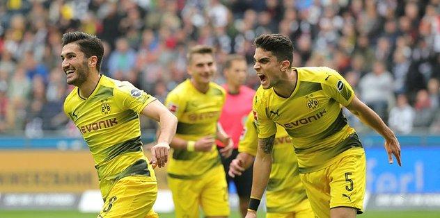 Nuri Şahin'in golü Borussia Dortmund'a yetmedi
