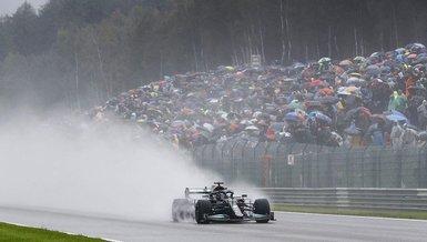 Son dakika spor haberi: F1 Belçika Grand Prix'sine yağmur engeli!