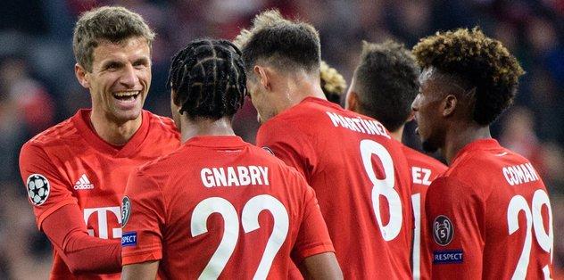 MAÇ SONUCU Bayern Münih 3-0 Kızılyıldız | ÖZET