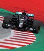 Mercedes Avusturya'da duble yaptı! Zirve Hamilton'ın