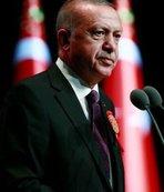 Başkan Erdoğan'dan 12 Dev Adam'a tebrik mesajı!