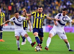 Fenerbahçe - Osmanlıspor maçından kareler