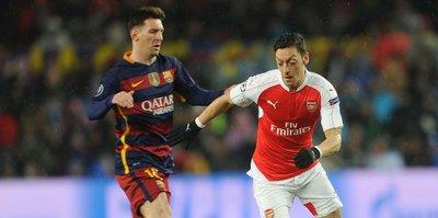 Messi'den flaş Mesut çıkışı!