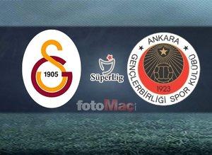 İşte Galatasaray'ın muhtemel Gençlerbirliği maçı 11'i