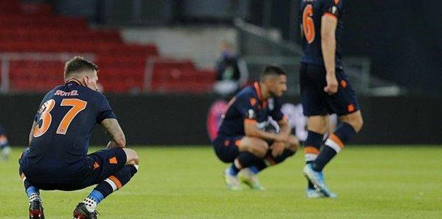Başakşehir elendi hesaplar bozuldu! - Futbol -