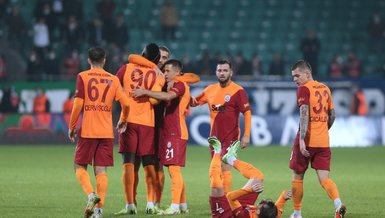 10-man Galatasaray survive in 5-goal clash against Rizespor with injury-time winner