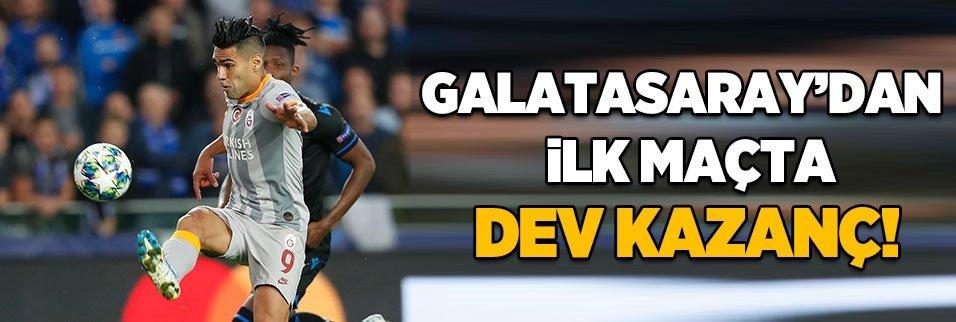 Galatasaray'dan ilk maçta dev kazanç!